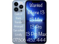✅ WANTED IPHONE 13, 13 MINI, 13 PRO, 13 PRO MAX, 12, 12 PRO, 11 PRO, NEW OR USED TOP PRICES PAID
