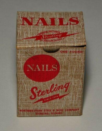 Vintage Sterling Fencing Staples.
