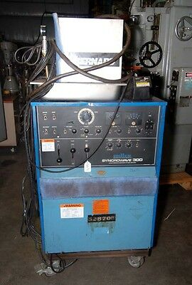 Miller Syncrowave 300 Acdc Gas Tungsten-arcshielded Inv.26696