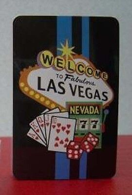 Welcome to Las Vegas Playing Cards in Plastic Box (1 deck)