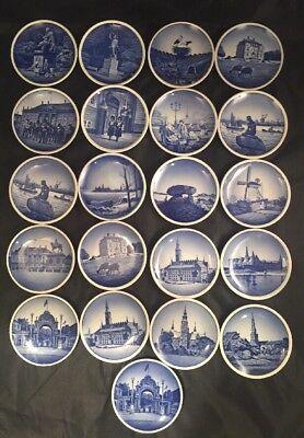 Royal Copenhagen Trinket Dishes 2010 Denmark Blue