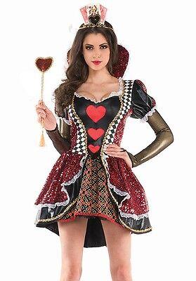 Kostüm Königin der Herzen Alicia Land Wunder Kostüme Karneval für - Der Land Frau Kostüm