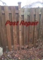 Fence Repairs Best Prices & Fast service