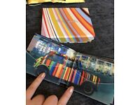 Paul Smith designer Wallet, the one with the colourful mini.