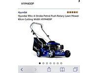 Hyundai petrol lawnmower still in box brand new