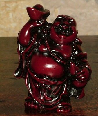 Statue Furniture Buddha Luck Money Hindu Protection Amulet India Ethnic 1B