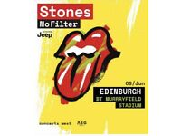 ROLLING STONES SOLD PENDING PAYMENT TICKETS - MURRAYFIELD - GOLDEN CIRCLE