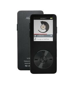 Metal MP3 Player | AGPtek M28 16 GB Music Player