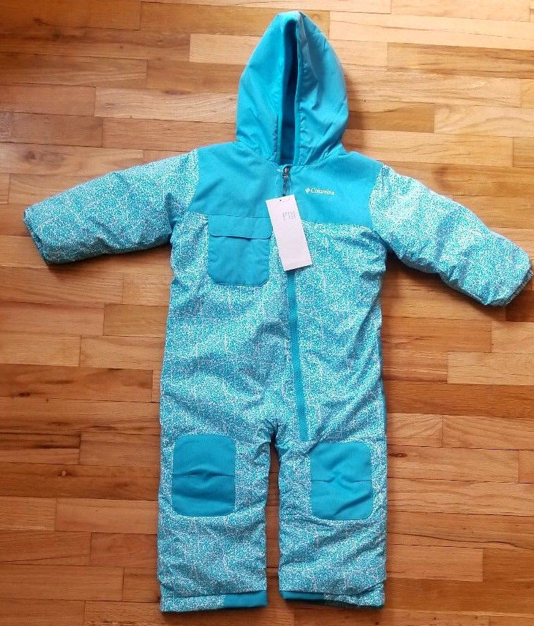 NWT  COLUMBIA HOT TOT SUIT ONE PIECE SNOWSUIT 3T NEW! $130
