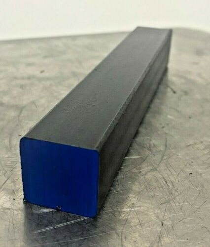 """1""""  A36 Hot Rolled Steel Square Bar Stock - x 6"""" Length"""