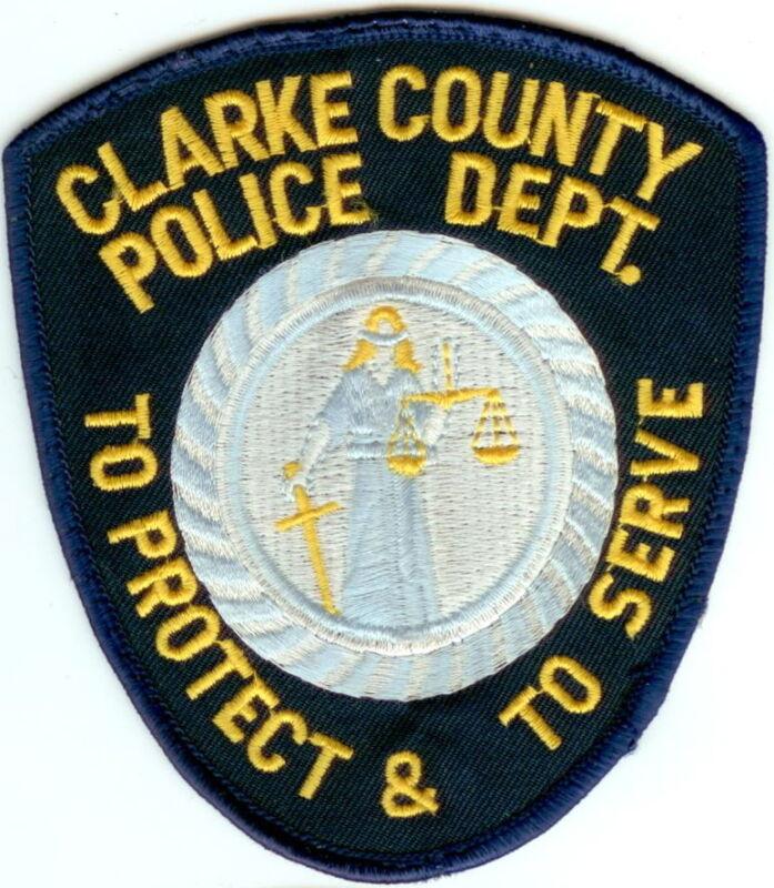Clarke County Police Patch Georgia GA NEW!!