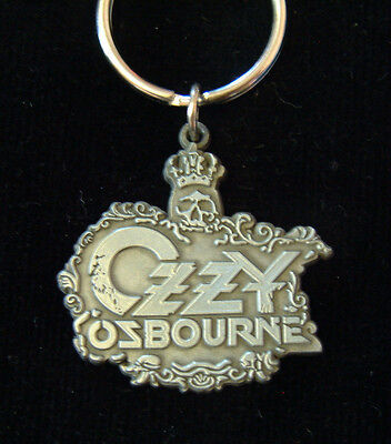 OZZY OZBOURNE- LOGO - KEYCHAIN (keyring) 100% OFFICIAL - NEW (Black Sabbath)