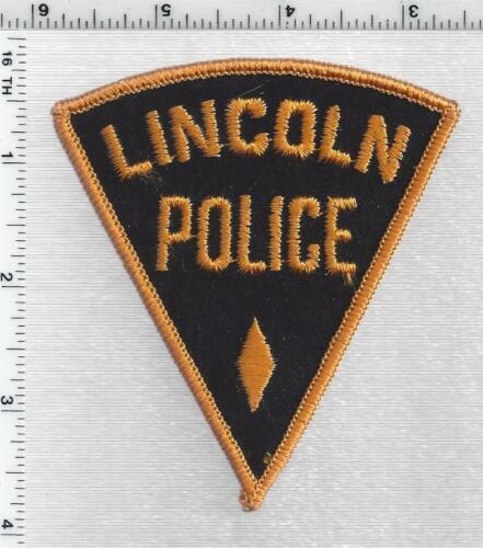 Lincoln Police (Nebraska) 2nd Issue Shoulder Patch