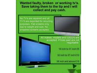 Wanted dead or alive LCD tv's