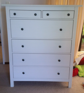 Huge White Chest of Drawers