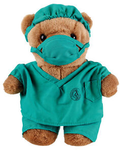 MEDICSTOX MEDICAL GIFT ITEMS DR SCRUBZ,NANCY NURSE&PATIENT BEARS