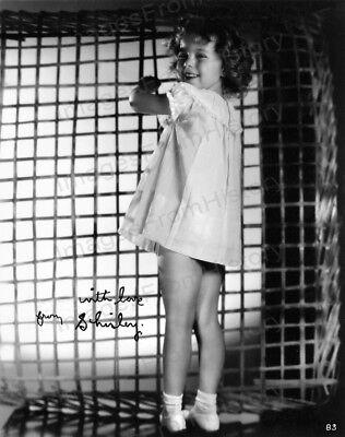 8x10 Print Shirley Temple Cute Peek a Boo #STPN
