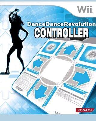Konami Dance Dance Revolution (Nintendo Wii) Mat Controller Pad Only - Nintendo Wii Dance Pad