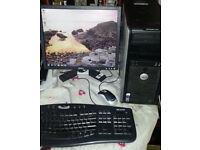DELL Windows 7 PC Tower -KODI TV Movies- MS Office 2013 - WiFi - **Basic Gaming**