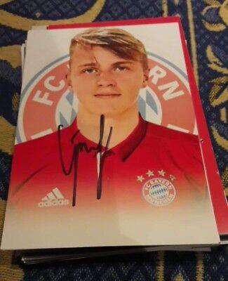 Signiertes Foto Felix Götze FC Bayern München NEU