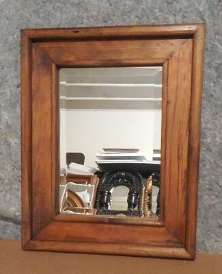 """Large Solid Wood """"16x20"""" Rectangle Beveled Framed Wall Mirro"""