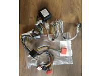 Audi (ISO) rear amplified parrot adapter harness