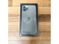 APPLE IPHONE 11 PRO 64GB (MIDNIGHT GREEN) - UNLOCKED TO ALL NETWORKS - NEW SEALED - APPLE WARRANTY