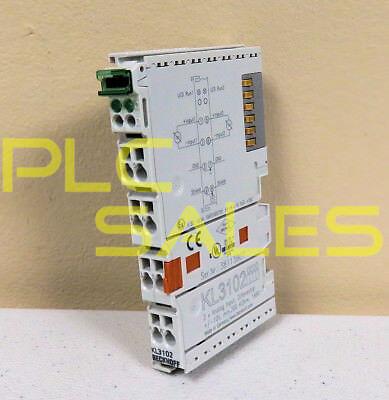 Beckhoff Kl3102  2-channel Analog Input Module
