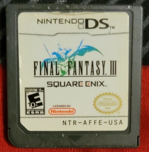 Nintendo DS Final Fantasy 3 Authentic Tested Working