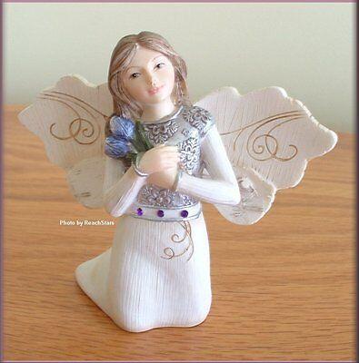 February Monthly Angel Figurine 3