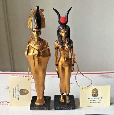 VERONESE 2002 Osiris and Isis figurines ~ 9