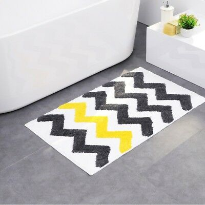 Non-slip Rug Home Wave Striped Small Carpet Living Room Bedr