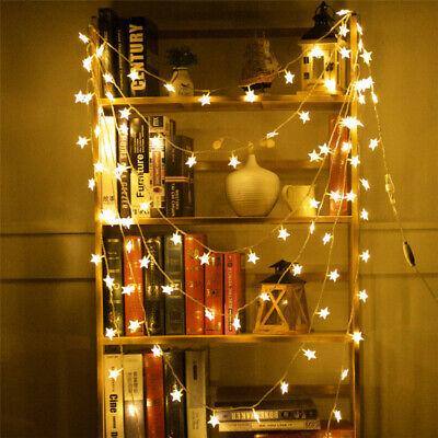 LED Star Lights Battery Garden Fairy String Micro Wedding Party Bedroom Decor