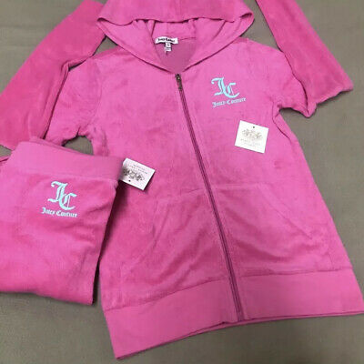 NWTJuicy Couture Girl's Pink Set 2 Pc Set Size 10