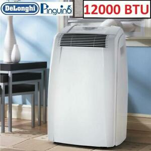 USED* DELONGHI AIR CONDITIONER PACC120E 246695357 PORTABLE 12000BTU FAN COOLING DEHUMIDIFIER