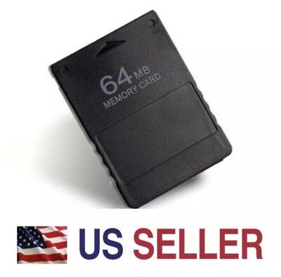 New 64M 64MB Memory Card Data Module for Sony PlayStation 2 PS2 Slim - 64 64mb Memory Module