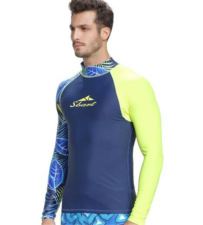 SBART Men Scuba Diving Quick-Dry T-shirt Snorkeling Surfing