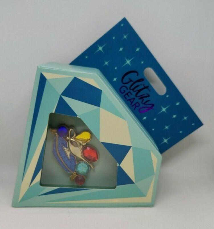Aladdin Magic Lamp Jeweled Glitzy Gear LE 1500 Disney Pin