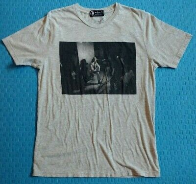 Andy Warhol By Hysteric Glamour Nat Finkelstein T-Shirt Size M Heather Gray