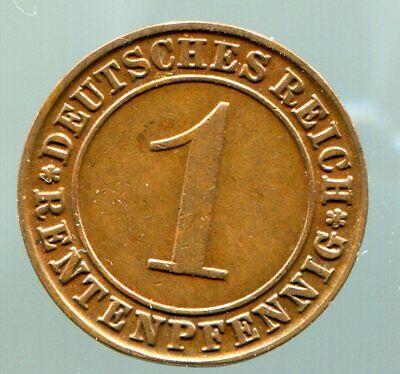 Weimar - 1 Rentenpfennig - 1923 J  / #0527 gebraucht kaufen  Deutschland