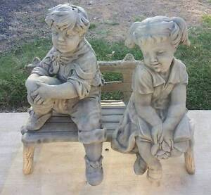 Jack and Jill on bench Hatton Vale Lockyer Valley Preview
