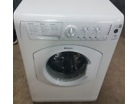 a732 2hite hotpoint 6kg 1400spin washing machine comes with warranty can be delivered or collected