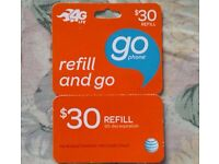 AT&T REFILL CARD