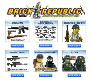 BRICK REPUBLIC & BRICKARMS IN MONTREAL! GET LEGO ACCESSORIES & PARTS FOR YOUR MINIFIGURES. WWII, MODERN COMBAT STAR WARS