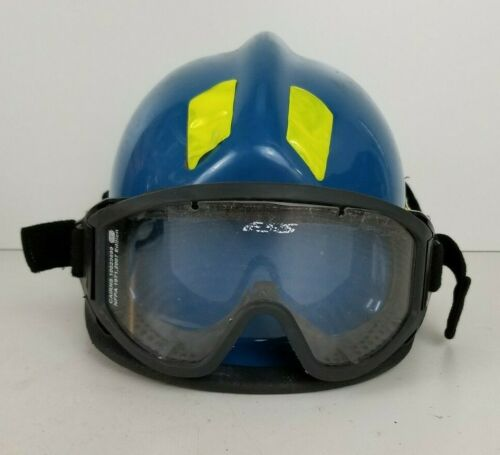 Cairns 360R Firefighter Helmet w/ Goggles Low Profile Rescue