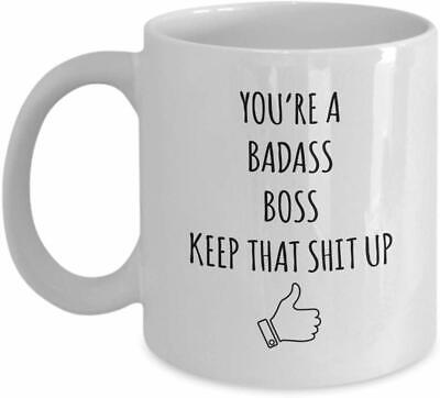 Boss Mugs Mug - Funny Gift Mug For Boss - Best Gag Gift Ideas For