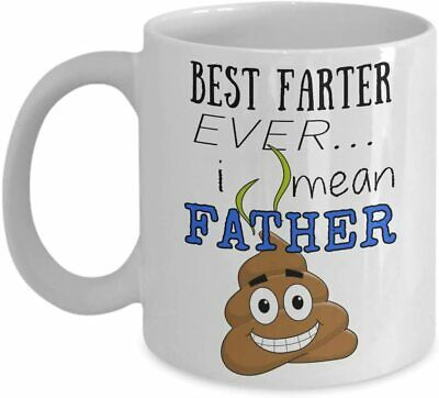 Best Farter Ever I Mean Father Coffee Mug Great Gift Cup Ideas for Father's Day