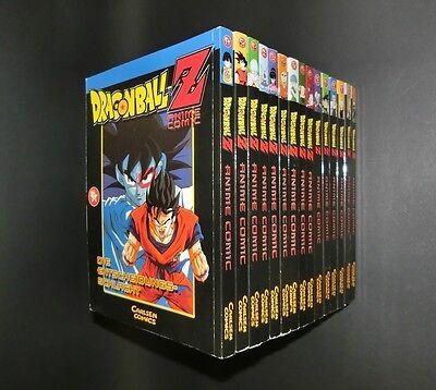 Dragon Ball Z - Manga Bände 1 - 15 komplett Carlsen
