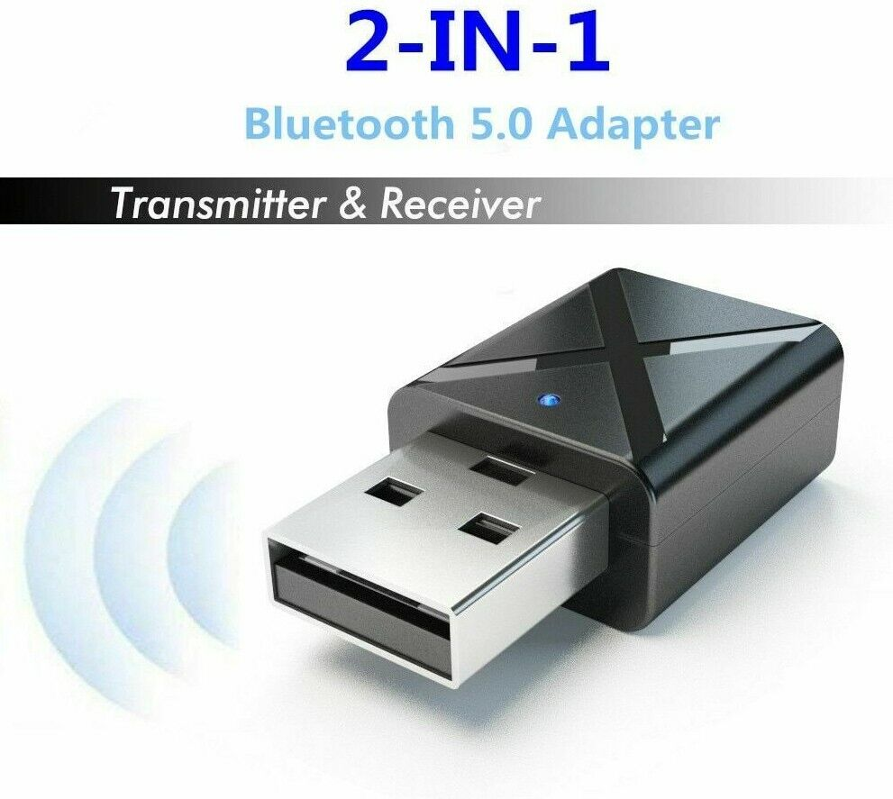 Wireless Bluetooth 5.0 Transmitter Receiver Dongle Stereo Au