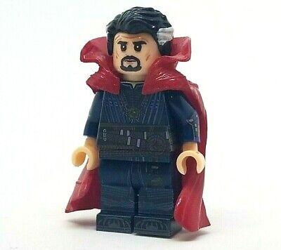 **NEW** Custom Printed - DOCTOR STRANGE - Marvel Universe Dr. Block Minifigure